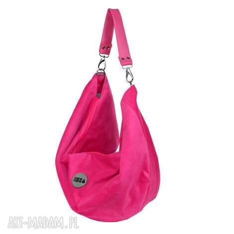 f70db098a5568 torba na ramiĘ voor mini fuksja