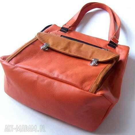 dynia torba xxl, dynia, pakowna, intuicyjna, duża, skóra, naturalna torebki