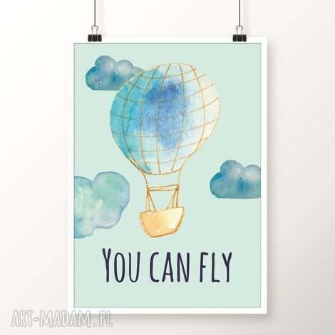 obrazek you can fly - balon, balony, plakat, balloons, obrazek
