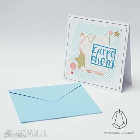 papierowa gruszka kartka okolicznościowa, kartka, urodzinowa, urodziny