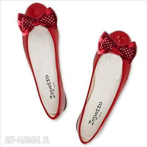 red dots - klipsy do butów, grochy, klipsy, kokardy, spinki, buty, ozdoby