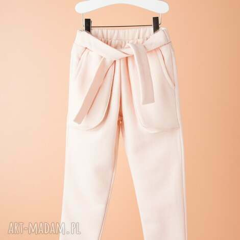 spodnie dsp01r, dziewczęce, modne, wygodne