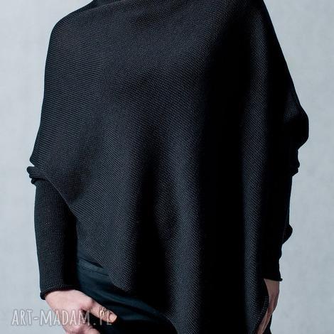 poncho sweter-ponczo - arthermina, sweter, poncho, bawełna