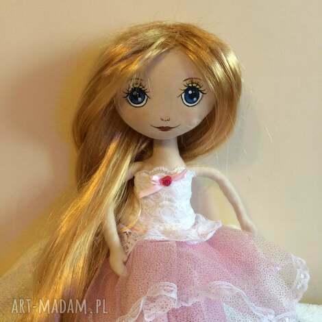 ubranka złotowłosa- lalka szmaciana, szmacianka dla dziecka