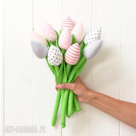 tulipany, tulipan, bukiet, tulipanów, kwiatki