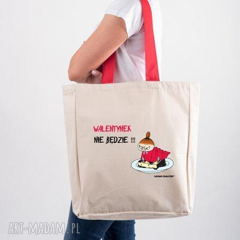 licencjonowana torba xxl muminki z czerwonym walentynek nie będzie mała mi