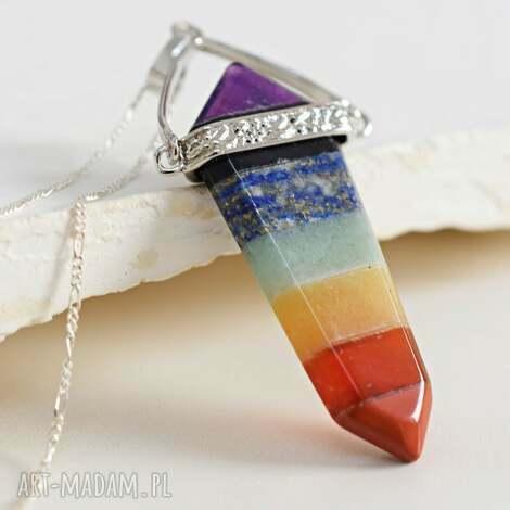 925 srebrny łańcuszek czakra, kamień, kamienie, prezent, łańcuszek, 925, orient