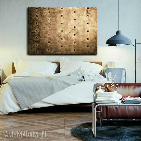 dekoracje duży obraz do salonu, złote dekoracje, na płótnie, nowoczesne