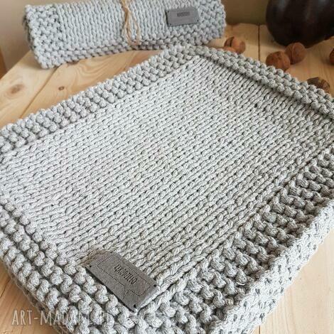 podkładki zamówienie dla p grzegorza, podkładka, stół, jadalnia, sznurek bawełniany
