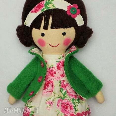 malowana lala rÓŻa - lalka, zabawka, przytulanka, prezent, niespodzianka, dziecko