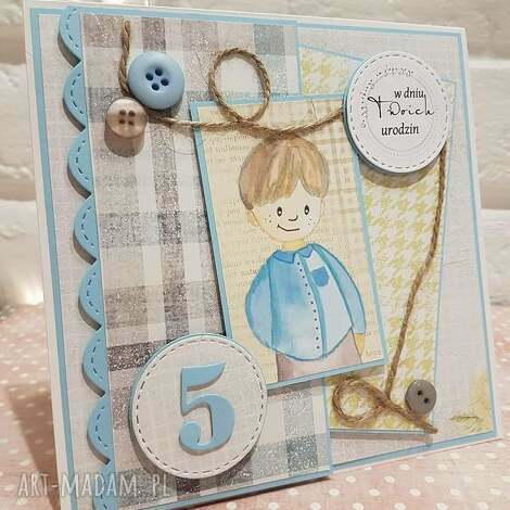 urocza kartka dla chłopca, chłopiec, urodziny, kartka, kartki