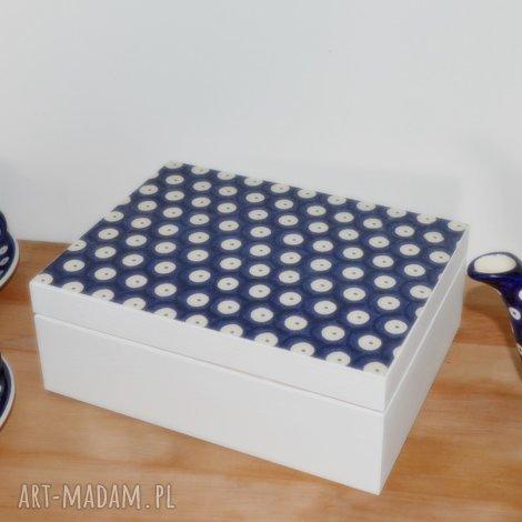 pudełka pudełko na herbatę herbaciarka bolesławiecka bolesławiec prezent dla mamy