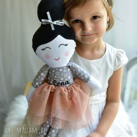 lalka szmacianka z imieniem, lalka, szmacianka, dla dziewczynki, dekoracja