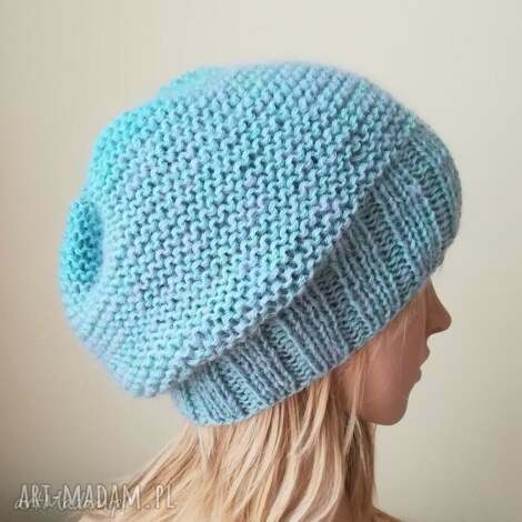 pastelowa paleta czapka - rękodzieło, pastele, zima, czapka, prezent