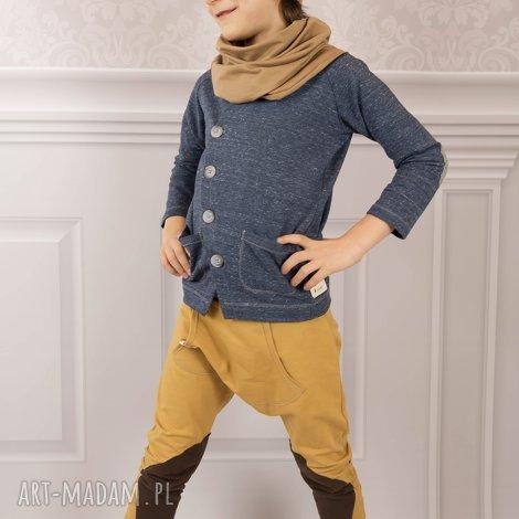 oryginalny prezent, cudi kids spodnie baggy musztarda ii, spodnie, baggy, łaty