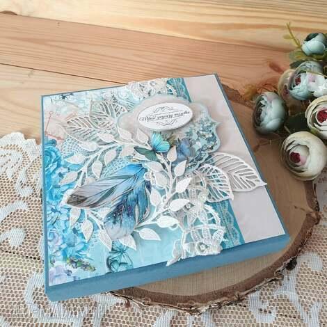 scrapbooking kartki żyli długo i szczęśliwie, kartka, kartka w pudełku, ślub