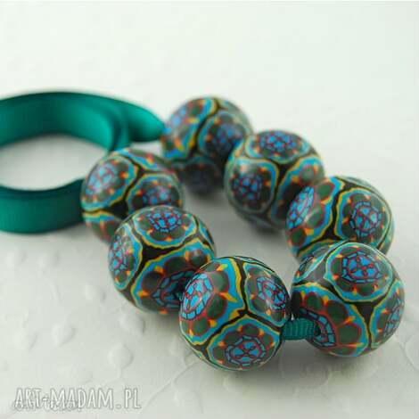 cyrkowe - fimo, korale, kolorowe