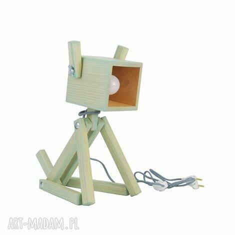 pod choinkę prezent, lampka puppy mint 004, drewno, lampkapies, dziecko, pokoik