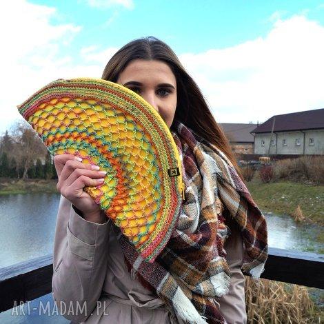 barska wiosenno-letnia torebka - żółty pierożek, torebka, letnia, wiosenna