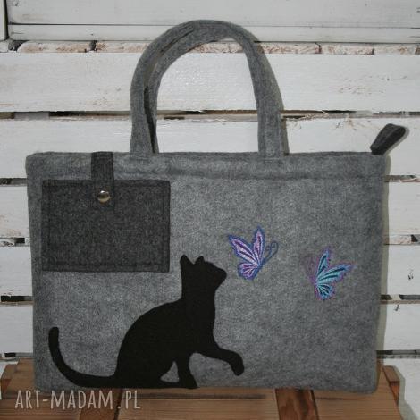 torba na laptopa, torebka do ręki, torba, filc, laptop