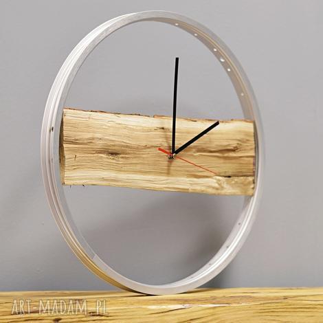 święta, zegar wood bikes bazaar, drewniany, drewno, zegar, duży, ścienny, rowerzysta
