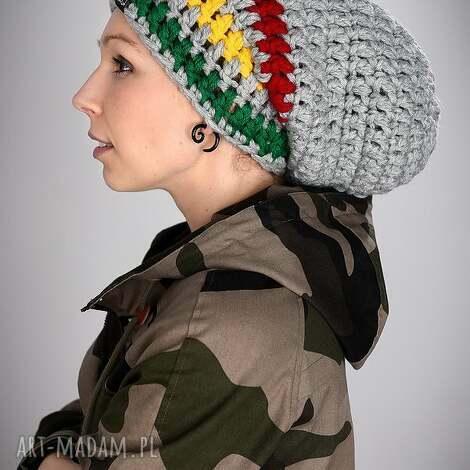 czapki dreadlove rasta 04, czapka, czapa, rasta, dready, ciepła, długa
