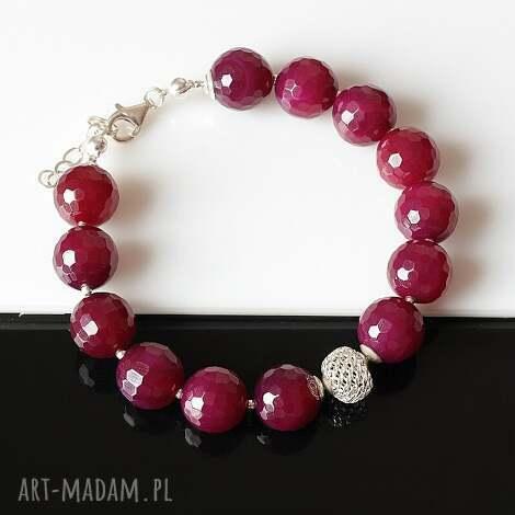 agat, srebro, ażur bransoletki biżuteria