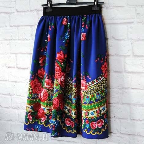 folky spódnica folkowa góralska midi wzór cleo, spódnica, midi, góralska, folk