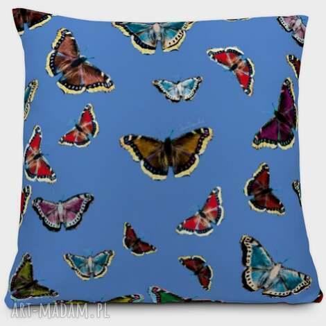 poduszka motyle, poduszka, dekoracja, unikat, dom, oryginalność, nowoczesność