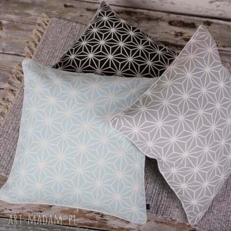 poszewka na poduszkę diamenty - 3 kolory - poduszki, poduszka, poszewka, dekoracje