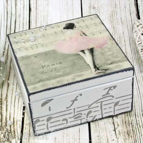 pudełko- baletnica, balet, pudełko, szkatułka, na, biżuterię pudełka dom