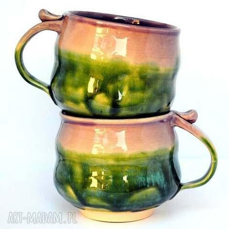 ceramiczne kubki - czar par nr 166, ceramika, zestaw, kubek, kubki, unikat, użytkowe