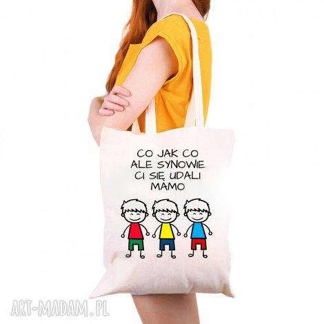 tailormade torba eko co jak ale synowie ci się udali mamo trzech synów - prezent
