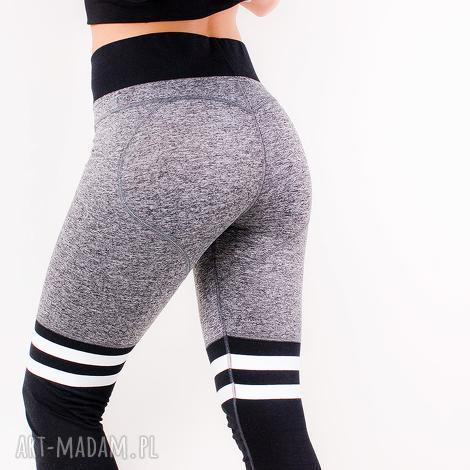 seksowne wyszczuplające legginsy idealne na siłownie fitness xs/s, dopasowne