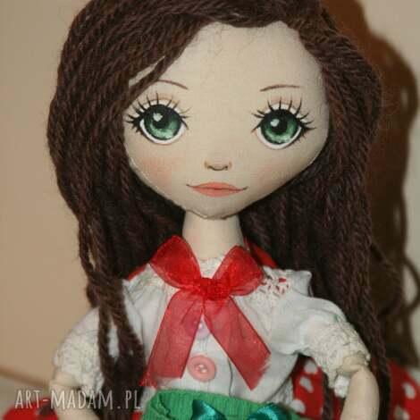 stasia - lalka ręcznie wykonana, szmacianka, prezent, orginalna lalki dla dziecka