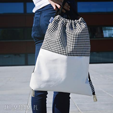 bbag plecak worek no 5, plecak, worek, sawka, skórzany, prezent, torba