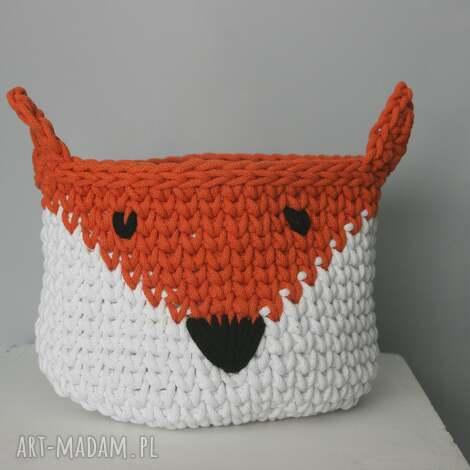 koszyk lis - koszyk, kosz, zwierzątko, lis, lisek