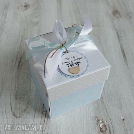 pudełko kartka pierwsza komunia święta, komunia, kartka, pudełko, prezent