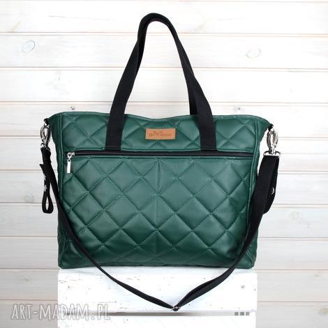 elegancka torba do wózka pojemna wodoodporna, torba, pojemna, pikowana, wózek