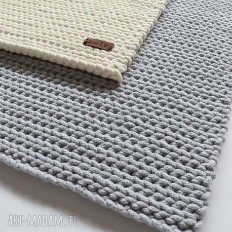 dywan prostokątny ze sznurka bawełnianego, chodnik sznurka, styl