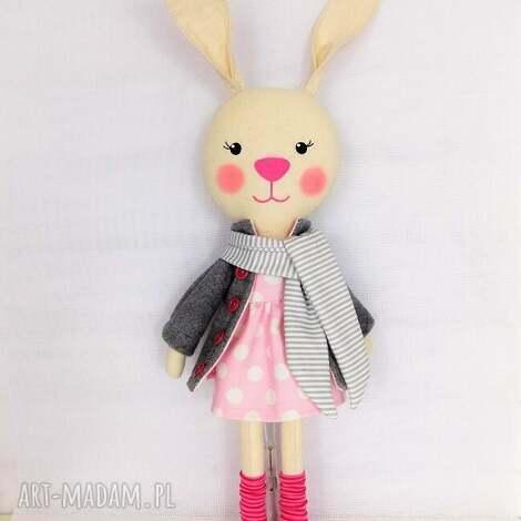 króliczka antosia, króliczka, zabawka, przytulanka, prezent, niespodzianka, dziecko