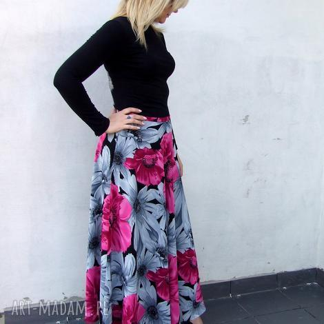 spódnica kwiatowa, spódnica, kwiaty, żorżeta spódnice
