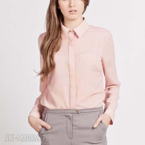 koszula, k101 róż, bluzka, krepa, mgiełka, matura, kobieca