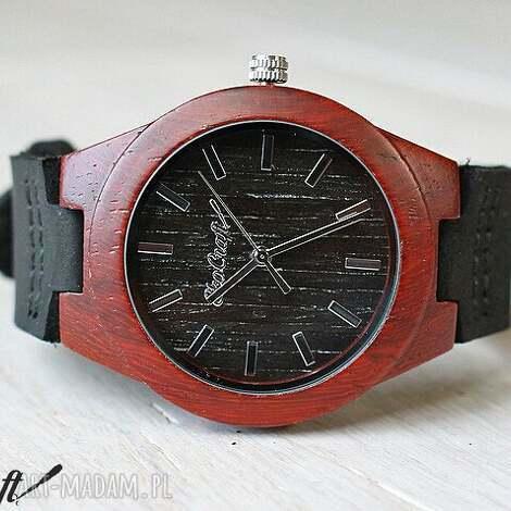 zegarki damski zegarek double sandal wood woman, damski, drewniany, zegarek, drewno