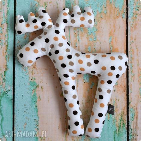 zabawka pan łosiek - czekoladowy groszek, zabawka, maskowtka, grochy, groszki, łoś
