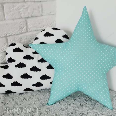 poduszka w kształcie gwiazdy - gwiazdka, dekoracja, poduszka, dziecko