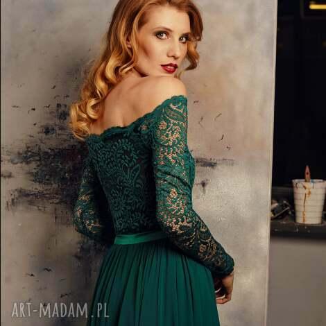 be7f33528e maxi sukienka z szyfonowĄ spÓdnicĄ rozm 34-42