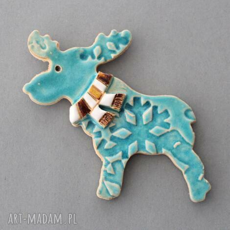 magnesy rudolfik-magnes ceramiczny, święta, prezent, upominek, lodówka, kuchnia