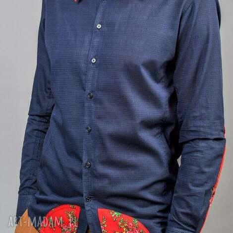 koszule męskie folk design - folk
