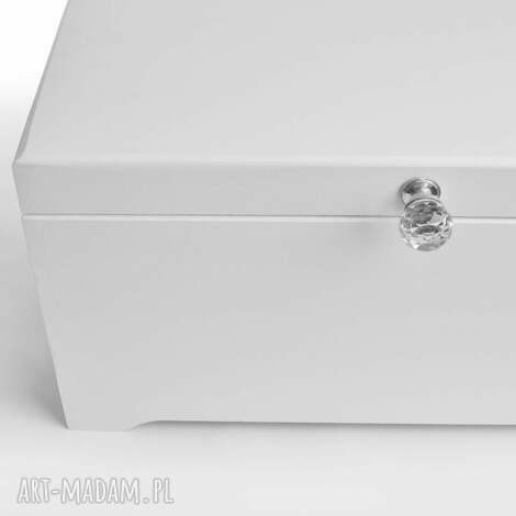 ślubne pudełko na koperty glamour, retro, prezent, kufer, kryształy